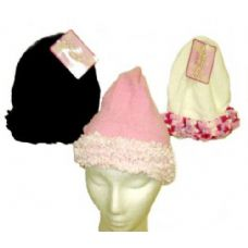 72 Units of Ladies Chenille Winter Hat - Fashion Winter Hats