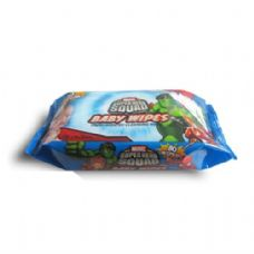 24 Units of Baby Wipes 80CT Marvel Heroes - Personal Care Items
