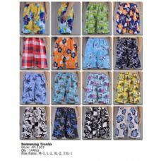 144 Units of Mens Swimming Trunks