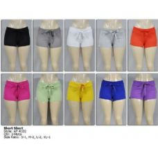 144 Units of Womans Shorts - Womens Shorts