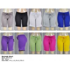 96 Units of Womens Bermuda Shorts - Womens Shorts