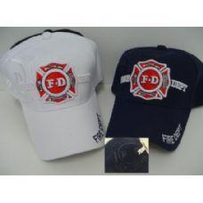 24 Units of Fire Department Hat-Shadow - Baseball Caps & Snap Backs
