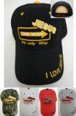 24 Units of Jesus One Way Hat