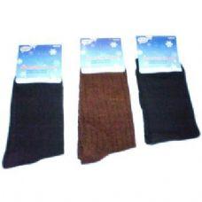 120 Units of Mens 1 Pair Dress Socks in Assorted Colors - Mens Dress Sock