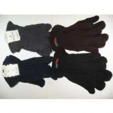 120 Units of Mens Flecce Winter Gloves - Fleece Gloves