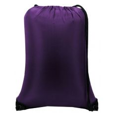 "60 Units of Value Drawstring Backpack-Purple - Backpacks 15"" or Less"