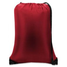 "60 Units of Value Drawstring Backpack-Red - Backpacks 15"" or Less"