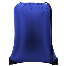 "60 Units of Value Drawstring Backpack-Royal - Backpacks 15"" or Less"
