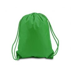 "60 Units of Drawstring Backpack - Kelly - Backpacks 15"" or Less"