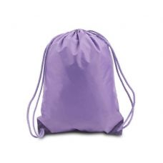 "60 Units of Drawstring Backpack - Lavender - Backpacks 15"" or Less"