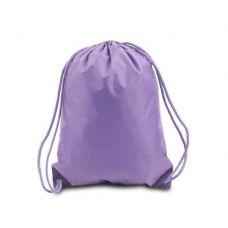 """60 Units of Drawstring Backpack - Lavender - Backpacks 17"""""""