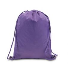 "48 Units of Drawstring Backpack - Purple - Backpacks 15"" or Less"