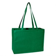 100 Units of Deluxe Tote Jr - Green - Tote Bags & Slings