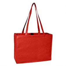 100 Units of Deluxe Tote Jr - Red - Tote Bags & Slings