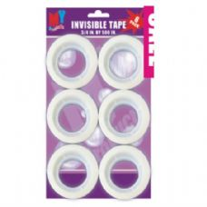 96 Units of Invisible tape 6pc - Tape