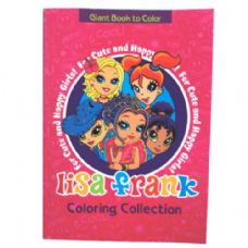 80 Units of Lisa Frank Coloring Book 112 Page - Coloring & Activity Books