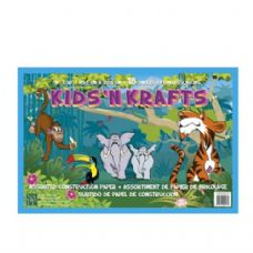 72 Units of Kids N Krafts Construction Papers 18x12 18SH - Coloring & Activity Books