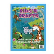72 Units of Kids N Krafts Construction Papers 9x12 36SH - Coloring & Activity Books
