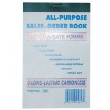 120 Units of Duplicate Sales Book 33 sheet (120/CS) - Sales Order Book