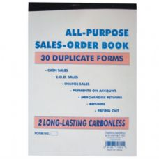120 Units of Duplicate Sales Book 30 sheet (120/cs) - Sales Order Book