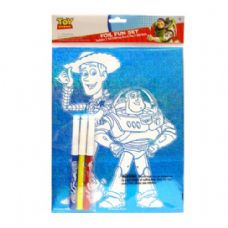 48 Units of Foil Fun Set Toy Story - Licensed School Supplies