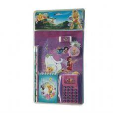 24 Units of 7PC Stationery Set Fairies - Licensed School Supplies
