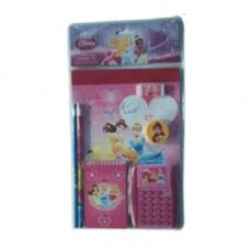 12 Units of 7PC Stationery Set Princess - Licensed School Supplies
