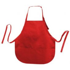72 Units of Cotton Twill Apron Red - Kitchen Linens