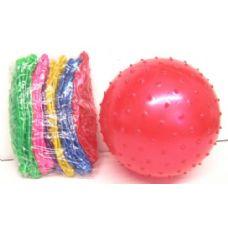 144 Units of SPIKE BALLS/MASSAGE RUBBER BALLS - Summer Toys