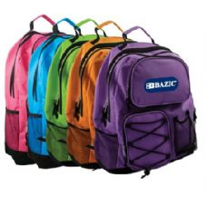 "20 Units of BAZIC 17"" Odyssey Bright Color Backpack - Backpacks 17"""