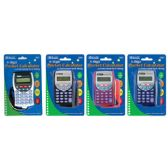 144 Units of BAZIC 8-Digit Pocket Size Calculator w/ Neck String - Calculators