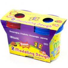 36 Units of Multi Color Modeling Dough 2 Pack - Clay & Play Dough