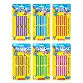 72 Units of BAZIC Pencil Grip Eraser (6/Pack) - Erasers