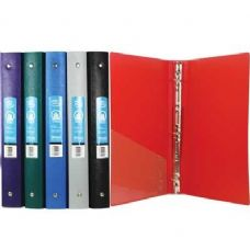 "48 Units of BAZIC 1"" Matte Color Poly 3-Ring Binder w/ Pocket - Clipboards and Binders"