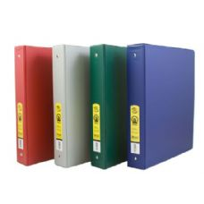 "48 Units of BAZIC 1.5""  Asst. Color PVC 3-Ring Binder w/ 2-Pockets - Clipboards and Binders"