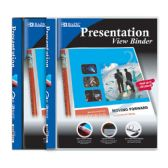 "48 Units of BAZIC 1/2"" Poly 3-Ring Presentation View Binder w/ Pocket - Clipboards and Binders"