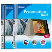 144 Units of BAZIC 10-Pockets Presentation Book - Envelopes