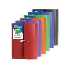 36 Units of BAZIC 7-Pocket Letter Size Poly Expanding File - Envelopes