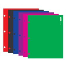 96 Units of BAZIC Laminated Bright Glossy Color 2-Pockets Portfolios - Folders and Report Covers