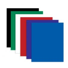 48 Units of BAZIC Solid Color 2-Pockets Poly Portfolio - Folders and Report Covers
