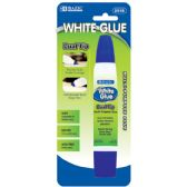 144 Units of BAZIC 1 Oz. (29.5mL) Dual Tip White Glue - Glue Office and School