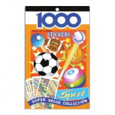 72 Units of Sport Series Assorted Sticker (1000/Pack) - Stickers