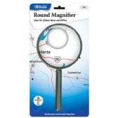 "72 Units of BAZIC 4"" Round 2x Handheld Magnifier - Magnifying  Glasses"