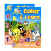 48 Units of BABY LOONEY TUNES Workbook - Coloring & Activity Books