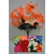 100 Units of 14 Head Silk Flower - Artificial Flowers