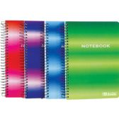 "72 Units of BAZIC 120 Ct. 5"" X 7"" Personal / Assignment Spiral Notebook - Notebooks"