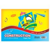 "48 Units of BAZIC 16 Ct. 18"" X 12"" Construction Paper Pad - Paper"