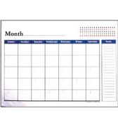 "48 Units of BAZIC 17"" X 22"" Undated 12-Months Desk Pad Calendar - Calendars/Planners"