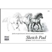 "48 Units of BAZIC 20 Ct. 18"" X 12"" Premium Sketch Pad - Paper"
