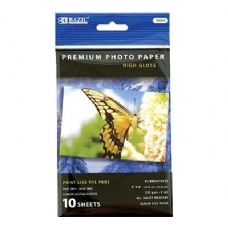 "144 Units of BAZIC 4"" x 6"" Glossy Photo Paper (10/Pack) - Paper"